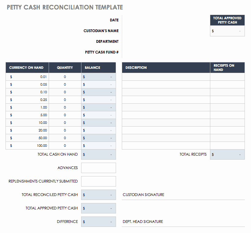 Account Reconciliation Template Excel Unique Free Account Reconciliation Templates