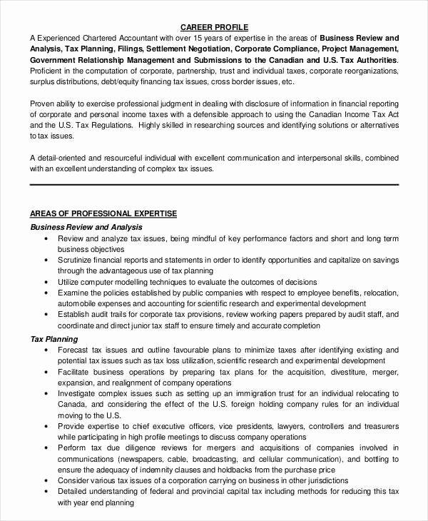 Accountant Resume Sample Pdf New 30 Accountant Resume Templates Pdf Doc