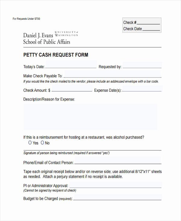 Accounts Payable Check Request form Luxury Free 29 Sample Check Request forms