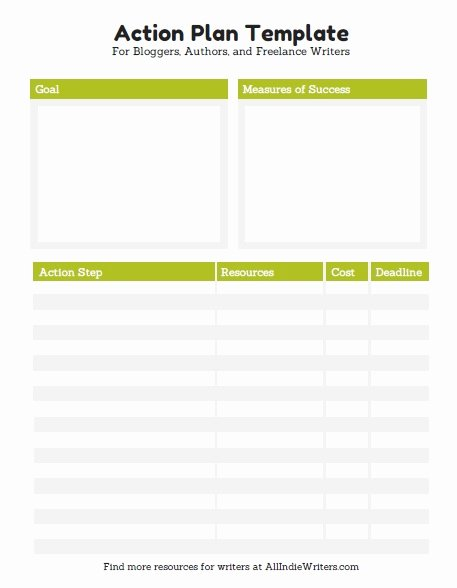 Action Plan Example for Students Best Of 10 Effective Action Plan Templates You Can Use now