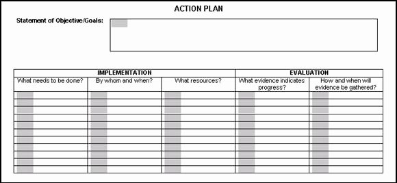 Action Plan Template for Students Beautiful Chapter 4 Iddl Portfolio