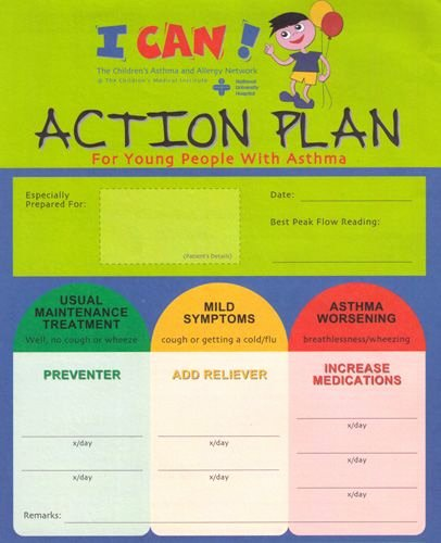 Action Plan Template for Students Elegant asthma Action Plan the asthma Action Plan asthmatic