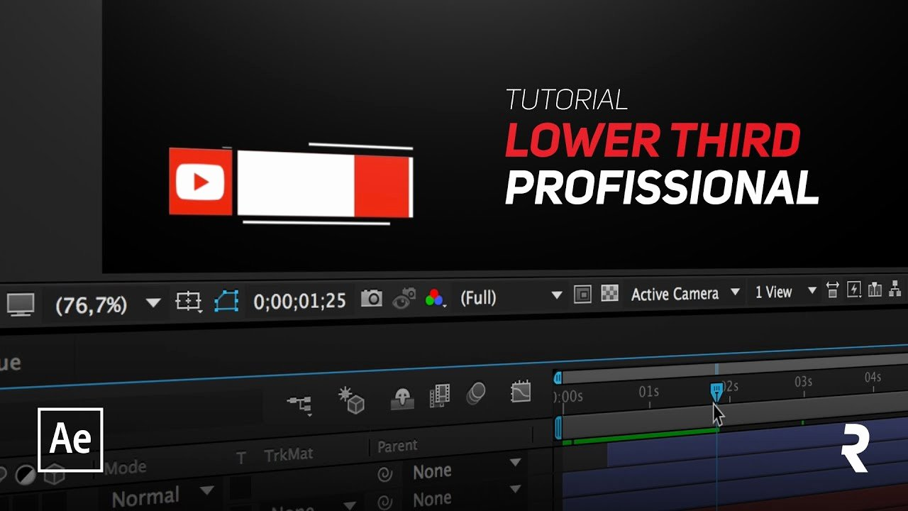After Effects Lower Thirds Best Of Tutorial after Effects Criar Lower Third Profissional