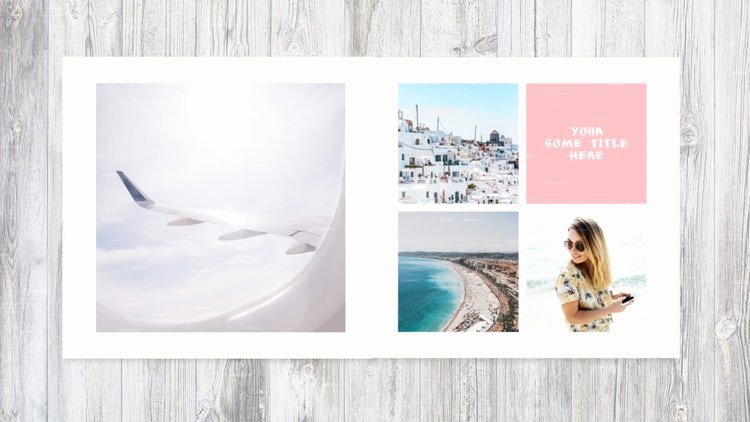 After Effects Slideshow Template Free Beautiful Album Slideshow after Effects Templates
