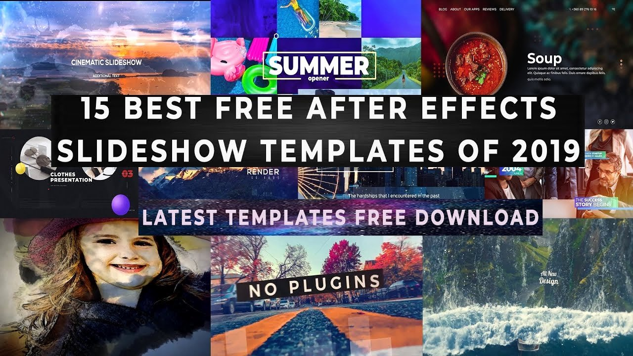 After Effects Slideshow Template Free Elegant Free after Effects Slideshow Templates 15 Latest Slideshow Templates 2019