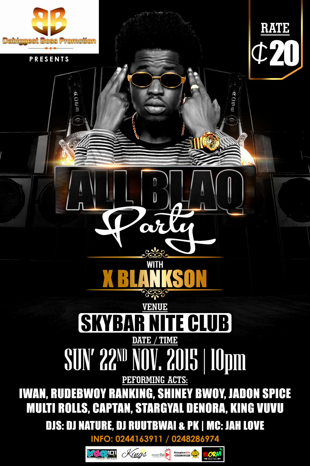 All Black Party Flyer Lovely Flyers Dangles Graphics All Black Party with X Blankson Powered by Dabiggestboss Promotions
