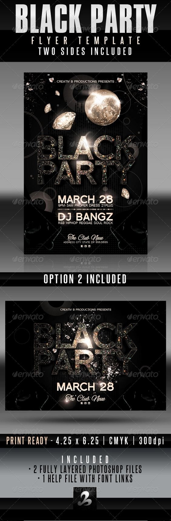 All Black Party Flyer Luxury Pinterest • the World's Catalog Of Ideas
