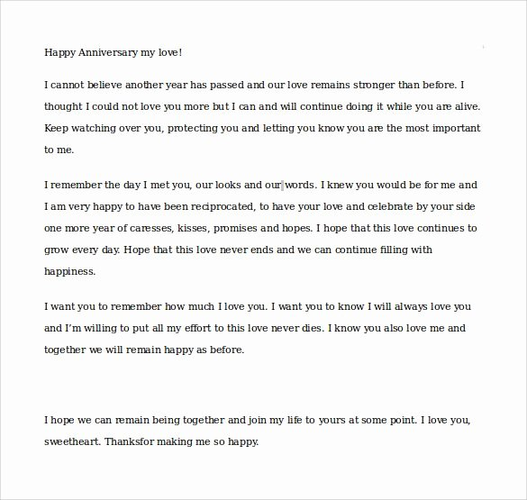 Anniversary Letter for Boyfriend Awesome Sample Love Letters to Boyfriend 16 Free Documents In Word Pdf Ts Idea