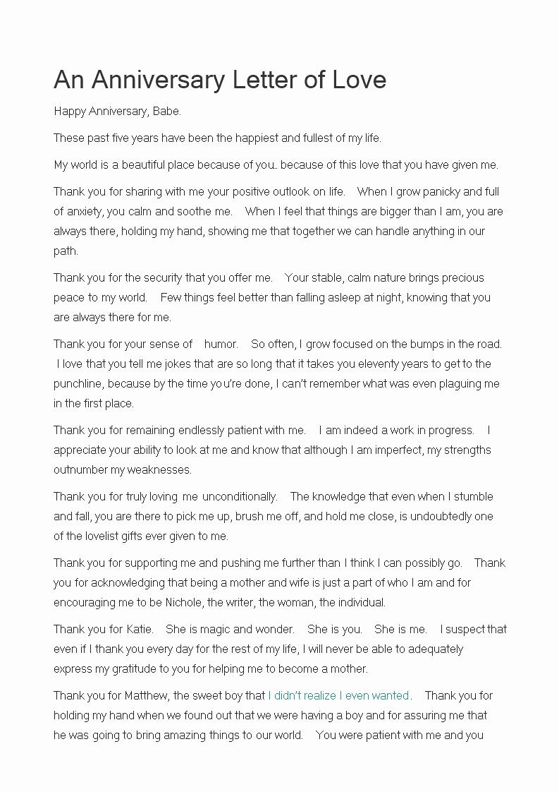 Anniversary Letter for Boyfriend Fresh Anniversary Letter to Boyfriend