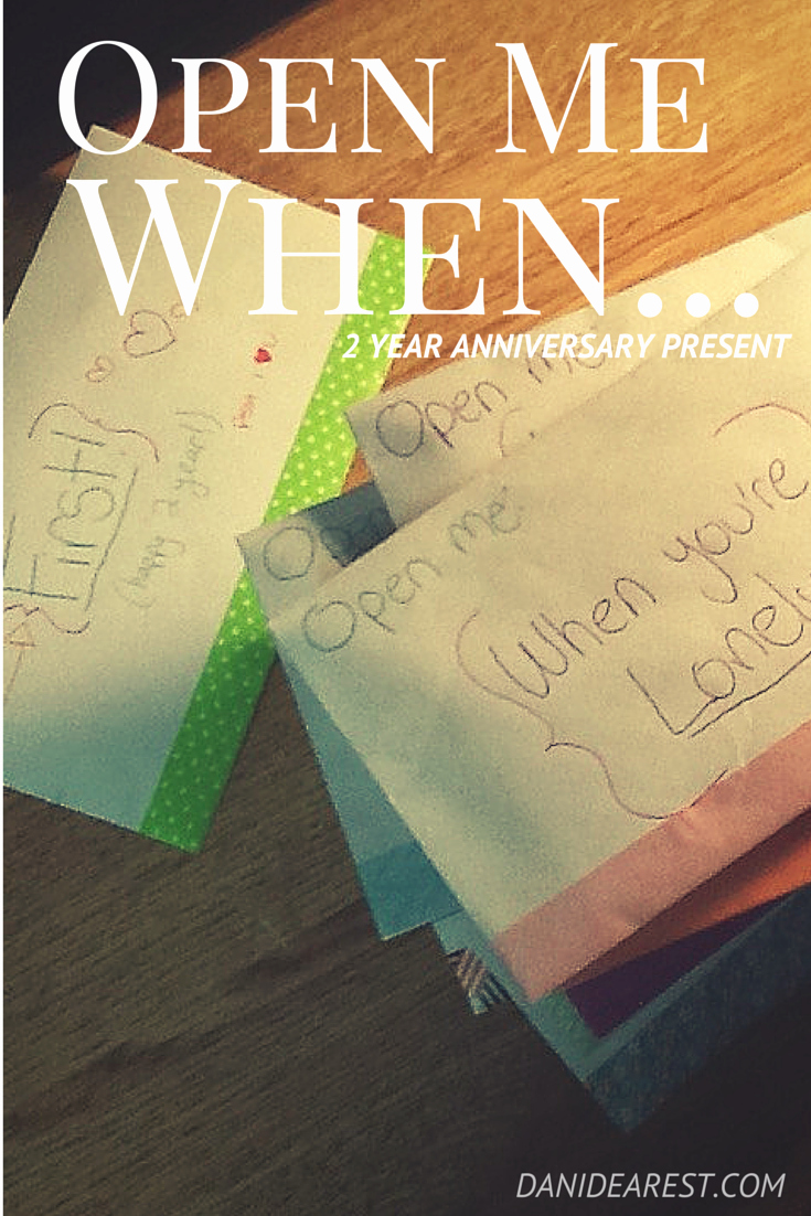 Anniversary Letter for Boyfriend Fresh Open Me when Anniversary Present for Him