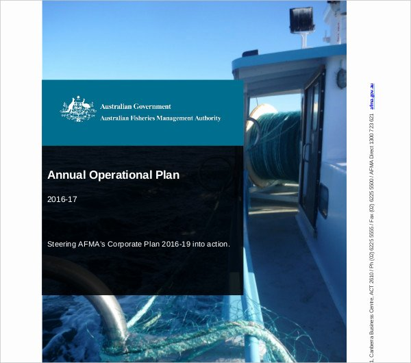 Annual Operating Plan Template Best Of 9 Annual Operational Plan Templates Word Pdf Docs