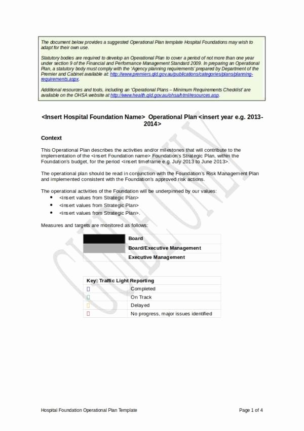Annual Operating Plan Template Inspirational Free 12 Annual Operational Plan Samples & Templates In Pdf Word