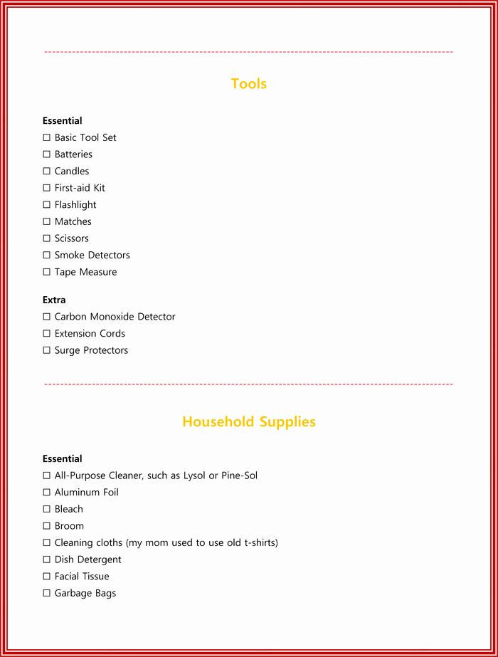 Apartment Maintenance Checklist Template Fresh New Apartment Checklist Template Things You Must Need
