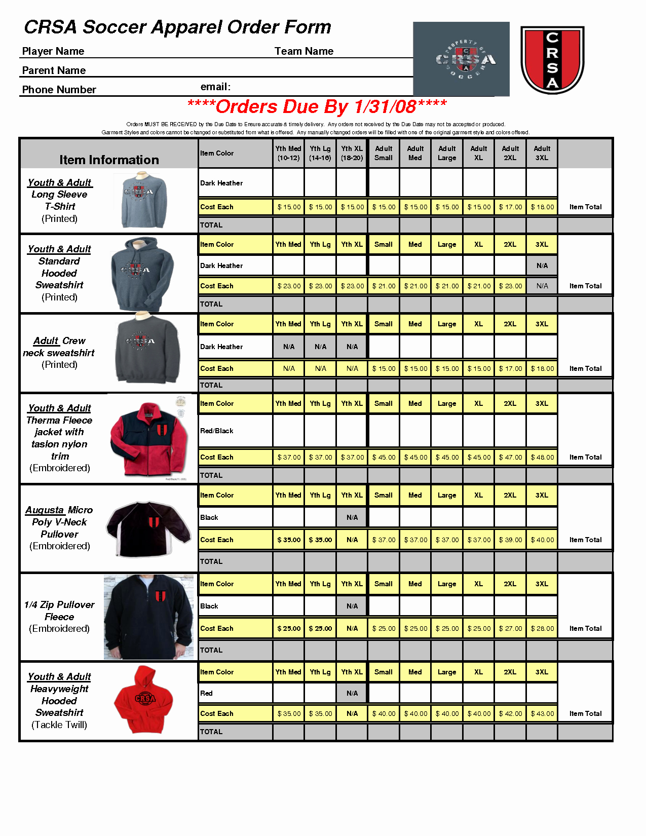 Apparel order form Template Excel Inspirational Best S Of Microsoft order form Template Work order form Template Word T Shirt order form