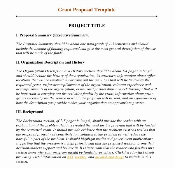 Art Project Proposal Example Pdf Awesome Grant Writing Template – 8 Free Word Pdf Ppt Documents Download