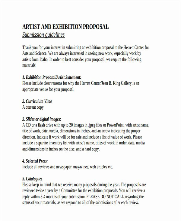 Art Project Proposal Example Pdf Unique Free 57 Proposal Templates and Examples In Pdf Google Docs Pages Doc Excel