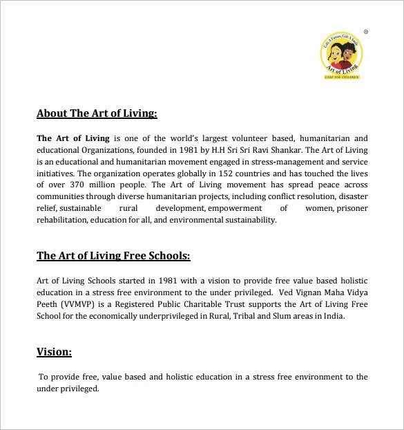 Art Project Proposal Example Unique Construction Proposal Template 20 Free Word Pdf format Download