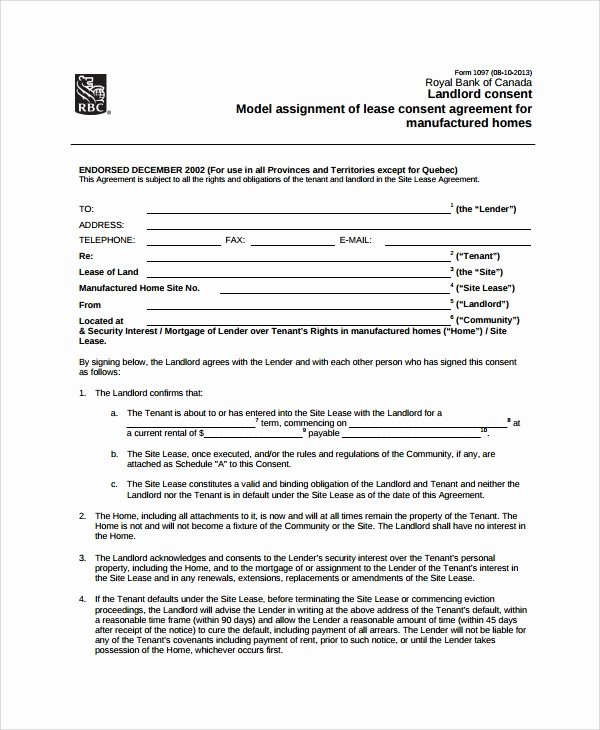Assignment and assumption Agreement Template Beautiful Sample assignment Of Lease 9 Free Documents Download In Word Pdf