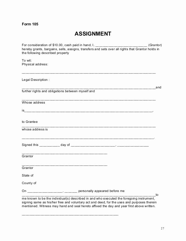 Assignment and assumption Agreement Template New assignment Of Mortgage Payment System with 3rd Mfacourses744 Web Fc2