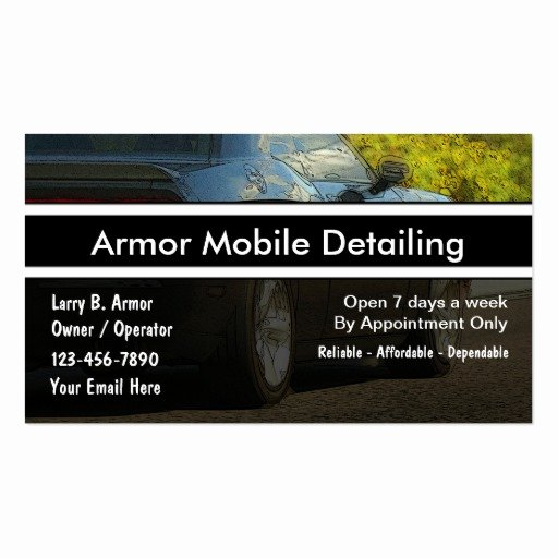 Auto Detail Business Cards Best Of Automotive Business Card Templates Page7