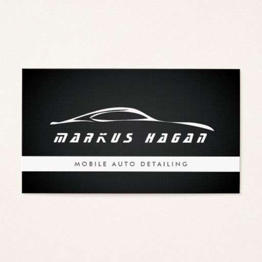 Auto Detail Business Cards Elegant 294 Best Auto Sales Business Cards Images On Pinterest