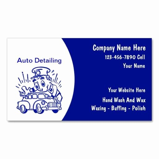 Auto Detail Business Cards Luxury 1000 Images About Car Wash Business Card On Pinterest