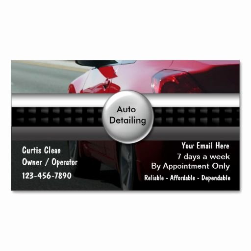 Auto Detail Business Cards New 78 Best Images About Auto Detailing Business Cards On Pinterest