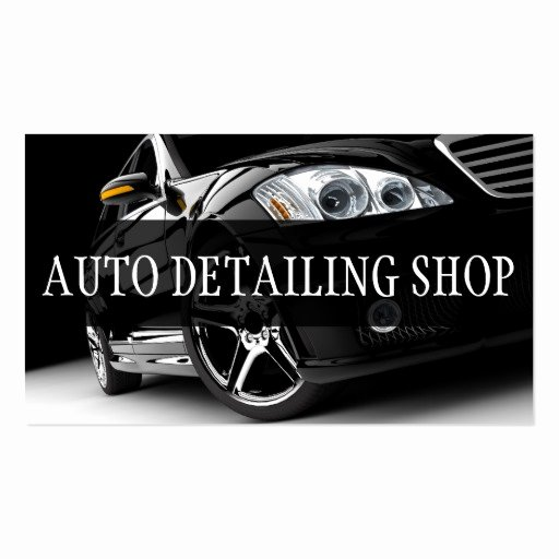 Auto Detail Business Cards Unique Black Auto Detailing Auto Repair Business Card
