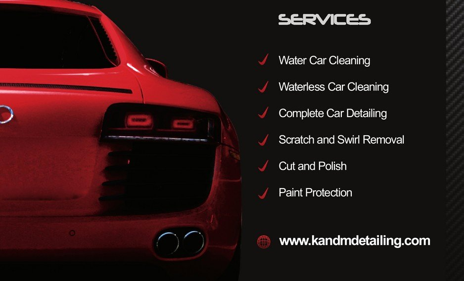 Auto Detail Business Cards Unique K&m Mobile Car Detailing In Ballajura Perth Wa Car Wash Truelocal
