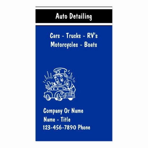 Auto Detailing Business Cards Awesome Automotive Business Card Templates Page30