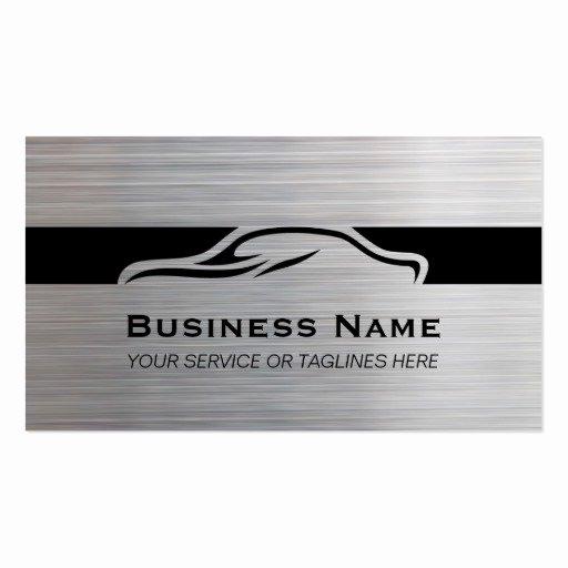 Auto Detailing Business Cards Beautiful Auto Repair Car Detailing Automotive Modern Metal Business