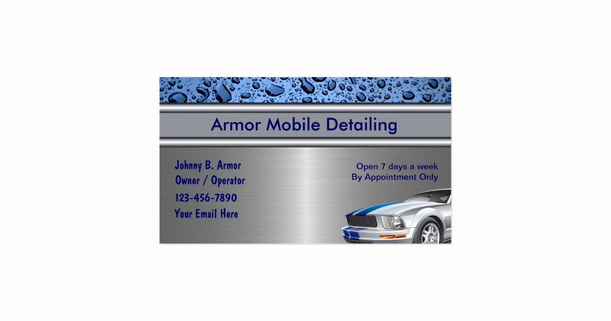 Auto Detailing Business Cards Fresh Auto Detailing Business Cards