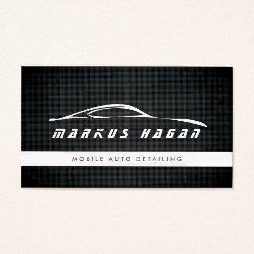 Auto Detailing Business Cards Unique 294 Best Auto Sales Business Cards Images On Pinterest