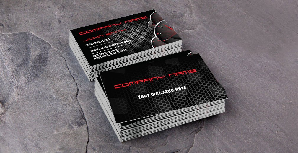 Auto Mechanic Business Card Beautiful Automotive and Car Shop Business Cards