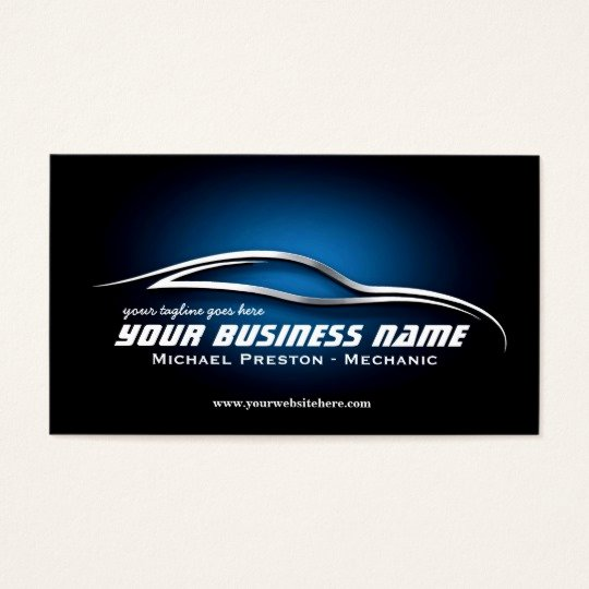 Auto Mechanic Business Cards Beautiful Auto Automotive Used Cards Car Dealer Mechanic