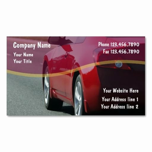Auto Mechanic Business Cards Fresh 17 Best Images About Auto Repair Business Cards On