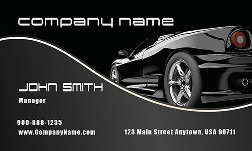 Auto Mechanic Business Cards Luxury tow Truck and Recovery Services Business Card Design