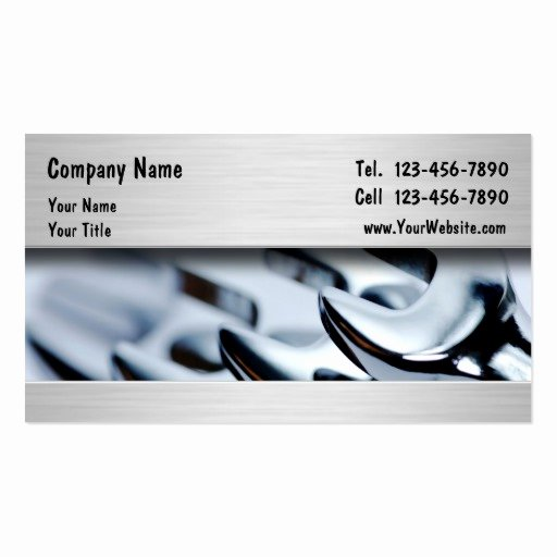 Auto Mechanic Business Cards New Auto Mechanic Business Card