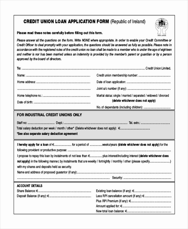 Automobile Credit Application form Best Of 11 Sample Credit Application forms Free Sample Example format