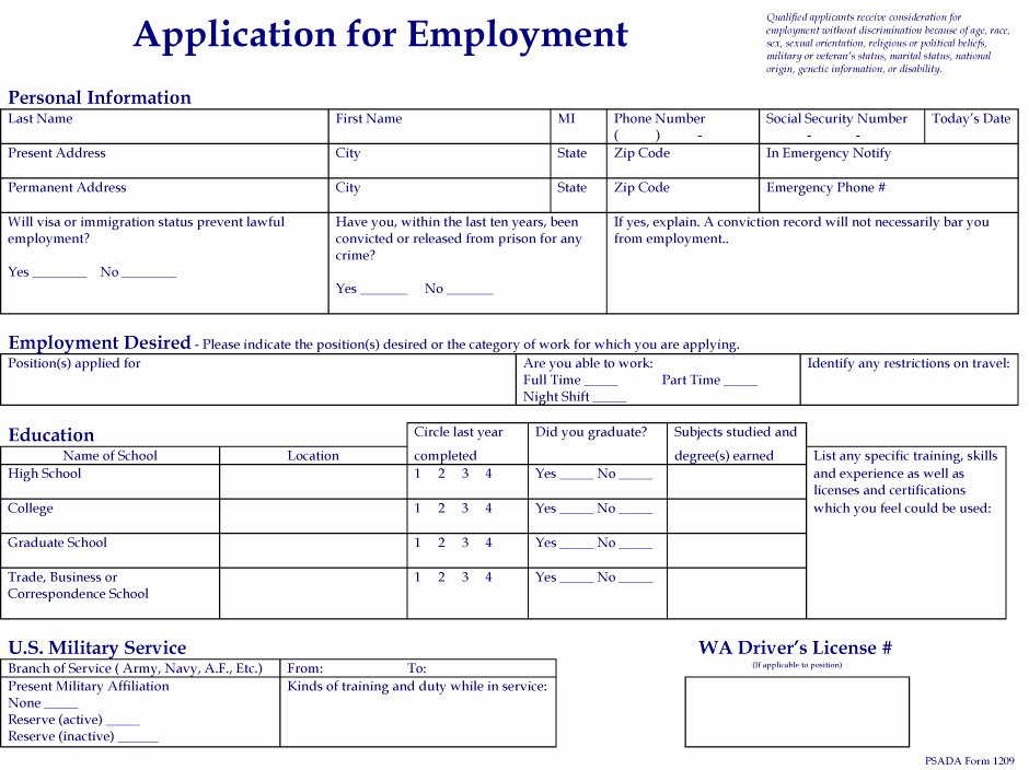 Automotive Credit Application form Elegant Employment Application for C Speck Motors Join Our Team