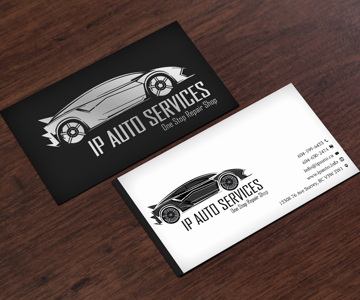 Automotive Repair Business Cards Fresh 20 Examples Of Auto Repair Business Card Design