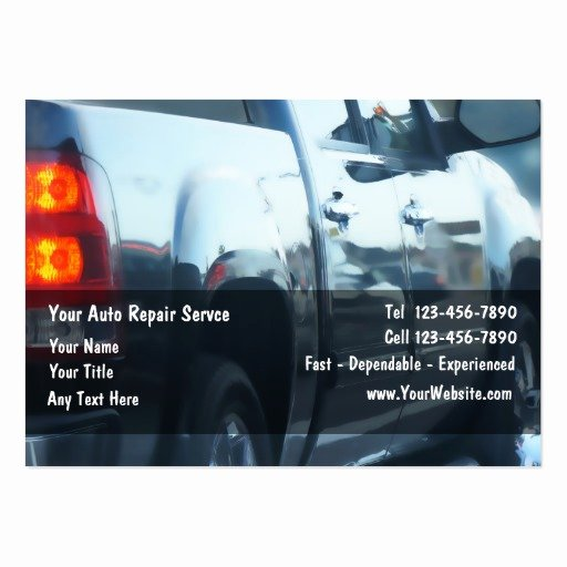 Automotive Repair Business Cards Unique Auto Repair Business Cards