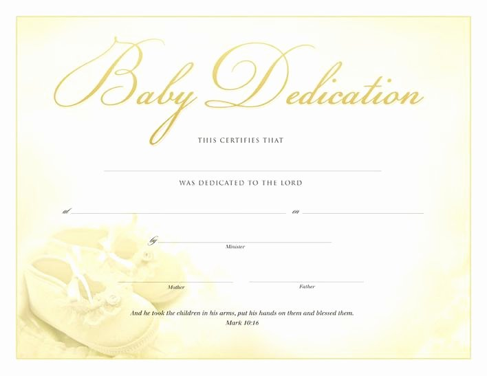 Baby Dedication Certificate Template Best Of Download Baby Dedication Certificate Pdf for Free Tidytemplates