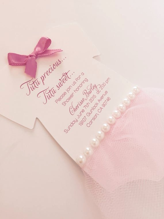 Baby Onesies Invitations Template Elegant Baby Onesie Tutu Invitation Tutu Baby Shower by Anaderoux On Etsy