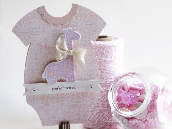Baby Onesies Invitations Template Elegant Baby Shower Invites for A Baby Girl Nichol Spohr Llc