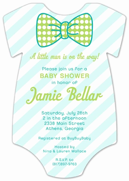 Baby Onesies Invitations Template Unique Little Man Bowtie Clipart Collection