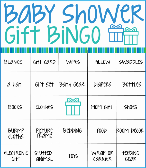 Baby Shower Gift List Template Elegant Make Your Next Baby Shower Memorable with these Free