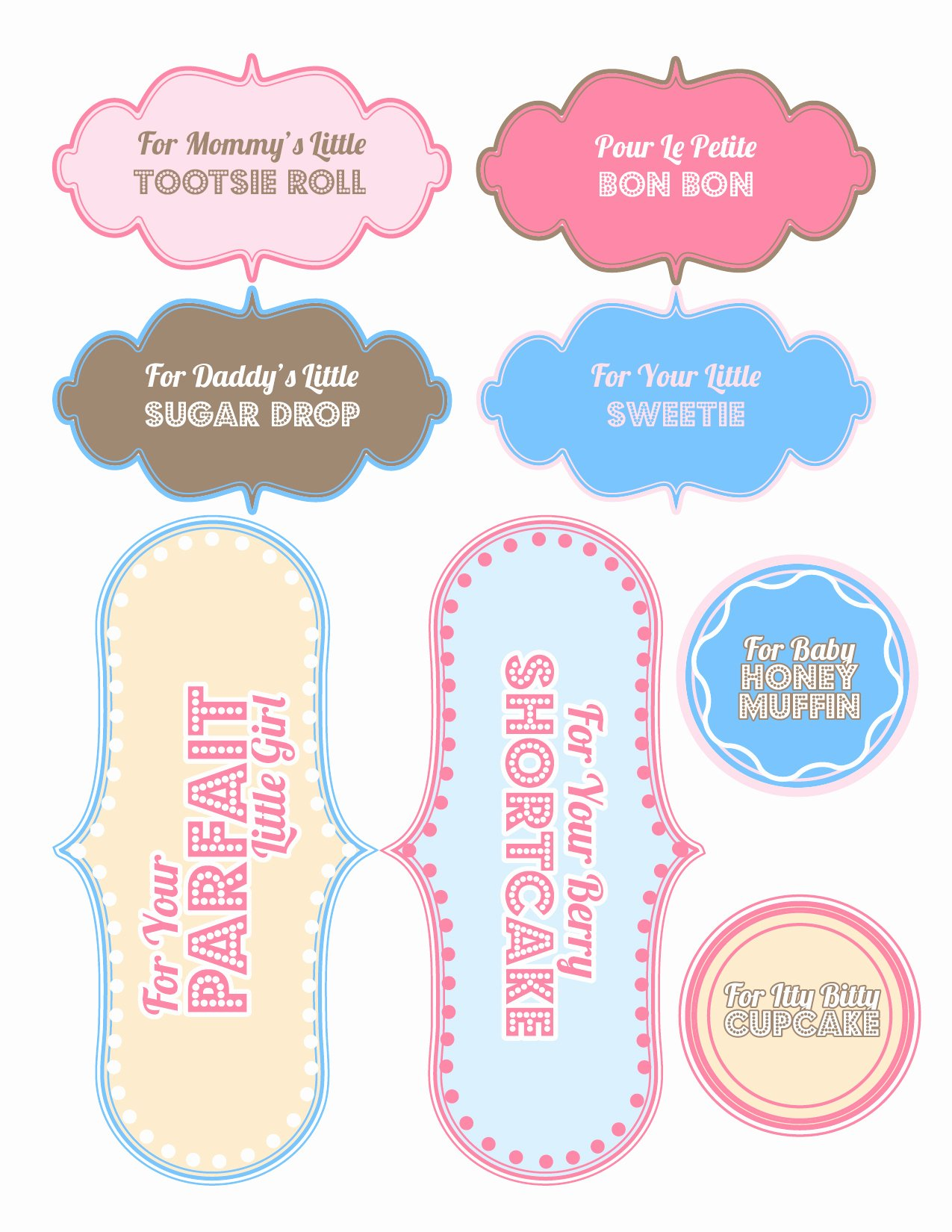 Baby Shower Gift List Template Unique Baby Shower Gifts [free Printable] Sweet Anne Designs