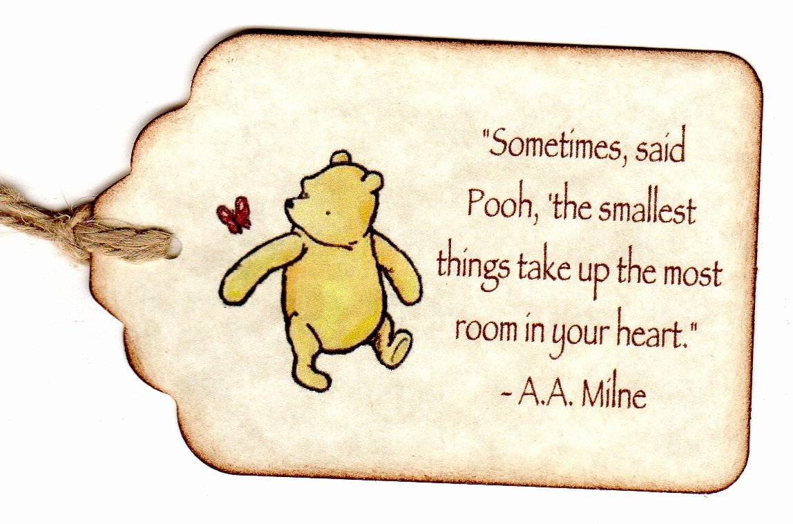 Baby Shower Gift Tag Fresh 20 Winnie the Pooh Baby Shower Favor Tags Baby by Luvs2create2