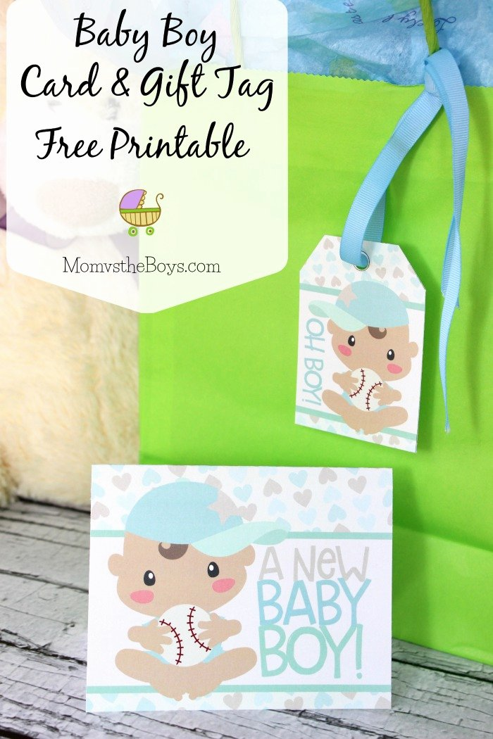 Baby Shower Gift Tag Luxury Baby Shower Gift Tags and Card Free Printable Mom Vs the Boys